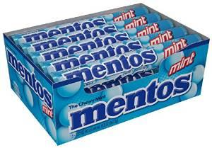 $7.88 Mentos Rolls, Mint, 1.32 Ounce (Pack of 15)