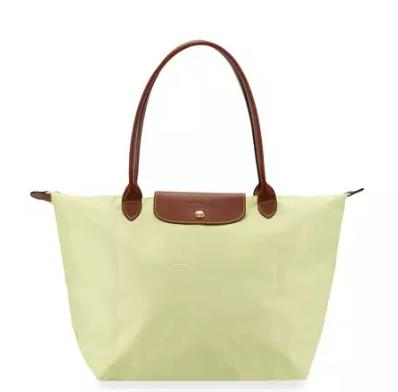 Longchamp Le Pliage Large Shoulder Tote Bag, Anise @ Neiman Marcus