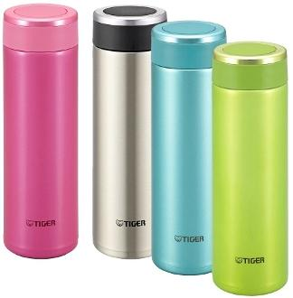 $17.99 Tiger MMW-A048-GL Stainless Steel Vacuum Insulated Travel Mug, 16-Ounce, Lime Green