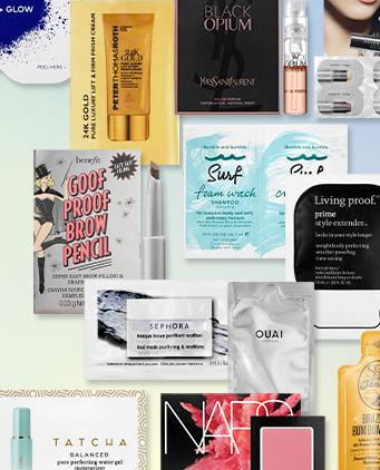 3 Free Samples with Any Purchase @ Sephora