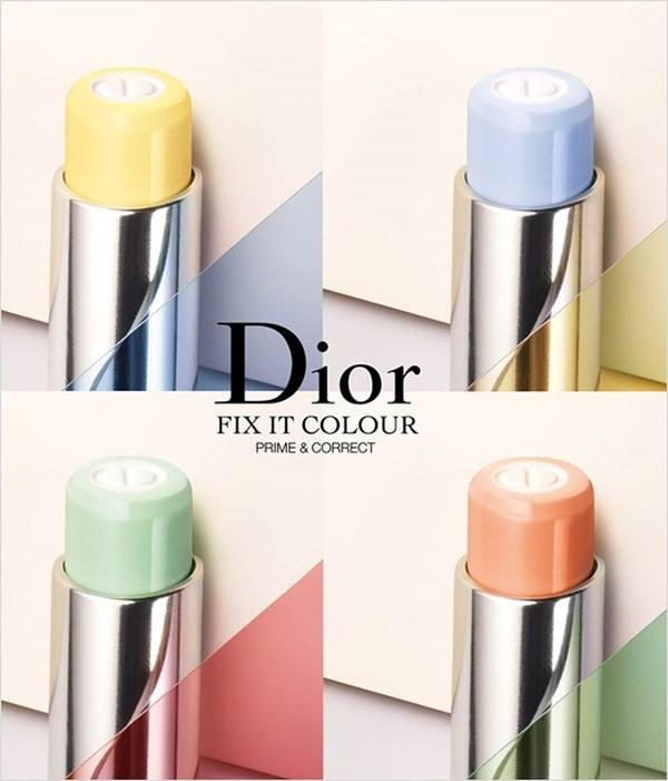 New Release Dior launched new Fix It 2-In-1 Prime & Colour Correct