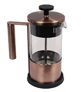 Single Serving Copper French Press Coffee Brewer