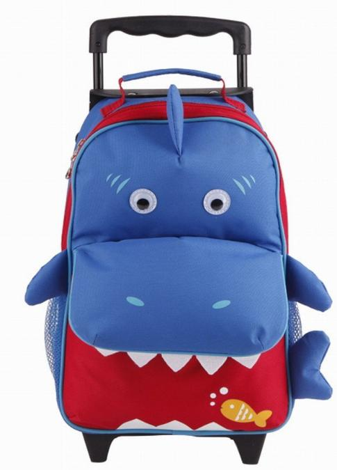 Yodo Convertible Playful 3-Way Little Kids Rolling Luggage or Toddler Backpack with Wheels for Travel