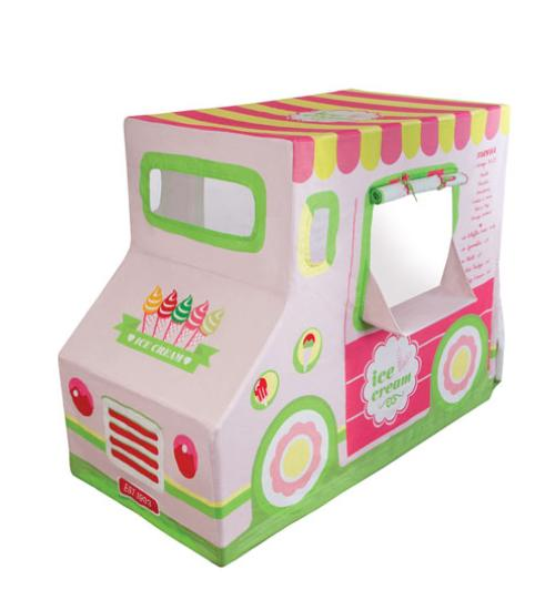 $73 Pacific Play Tents Canvas Ice Cream Truck Play Tent, Multicolor  @ Bergdorf Goodman