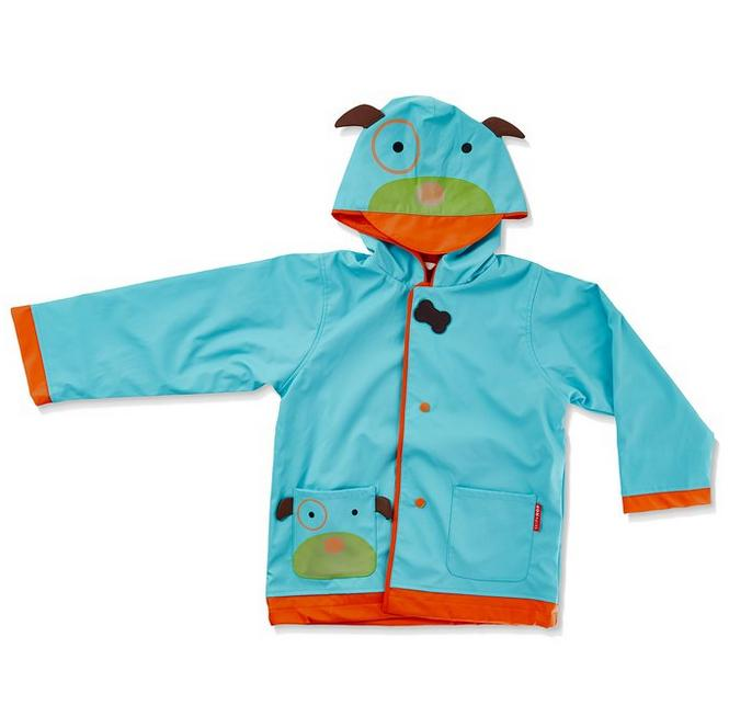 From $20.41 SkipHop Little Girls' Zoo Raincoat