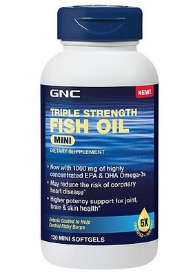 GNC Triple Strength Fish Oil Mini