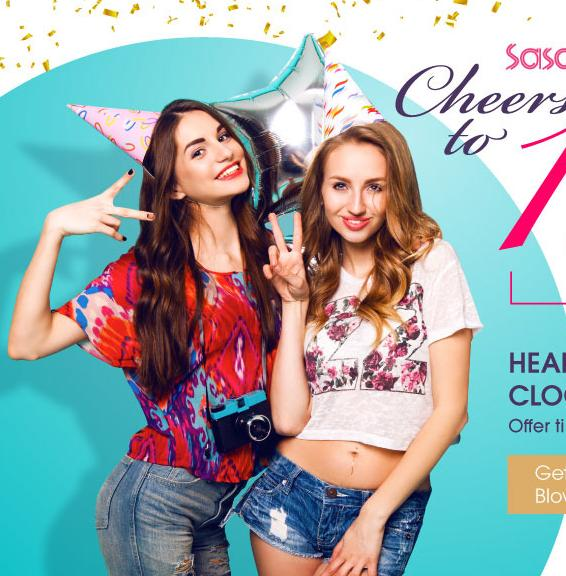 Up to 82% Off Cheers to 16 Years Sale @ Sasa.com