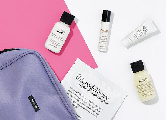 Free 5 Deluxe SamplesWith Any Orders Over $45 @ philosophy