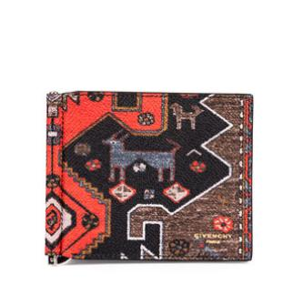 $237 Givenchy Persian Rug-Print Money Clip Wallet @ Bergdorf Goodman