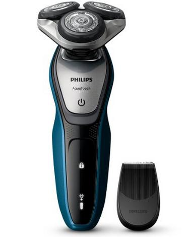 £48.99 Philips AquaTouch S5420/06, Wet and Dry Men's Electric Shaver