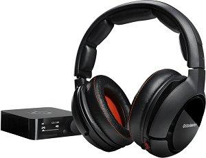 SteelSeries Siberia 800 Wireless Gaming Headset with Dolby 7.1 Surround Sound for PC/Mac PS3/4 Xbox 360 and Apple TV (Formerly H Wireless)