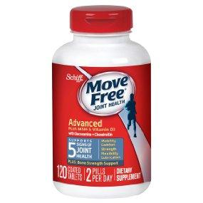 $15.75 Move Free Advanced Plus MSM and Vitamin D3, 120 Count