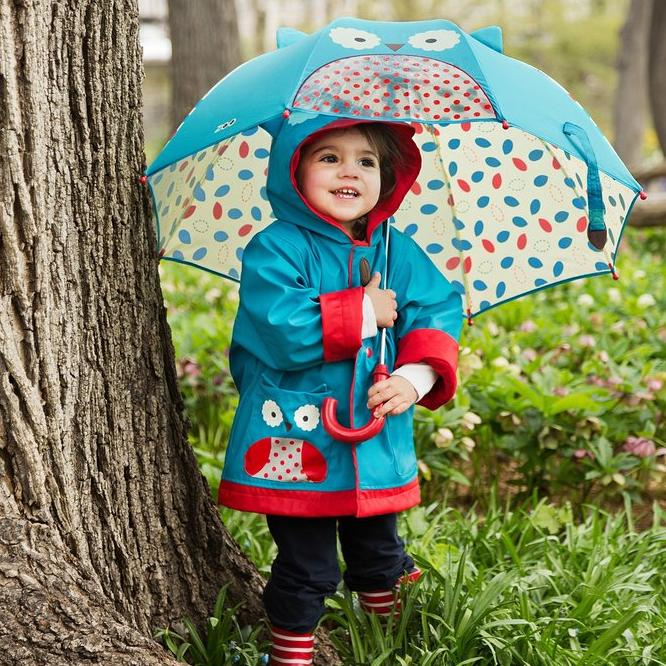 From $20.82 SkipHop Little Girls' Zoo Raincoat
