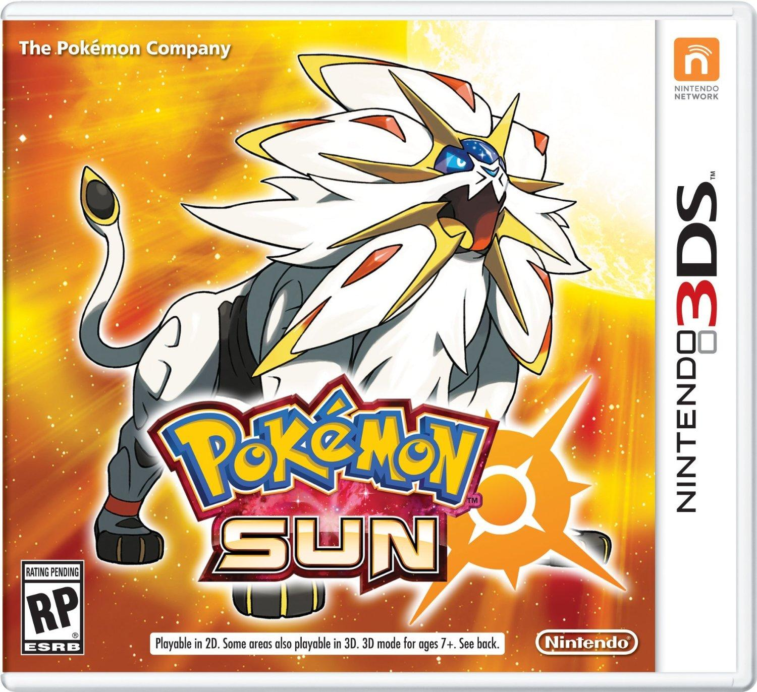 $31 Pokemon Sun - Nintendo 3DS