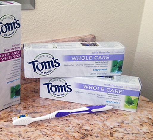 $4.08($12.37) Tom's of Maine Whole Care Fluoride Gel, Spearmint, 4.7 oz., 2 Count