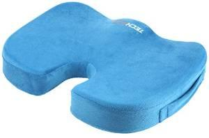 Seat Cushion Pain Relief for Coccyx, Tailbone, Hemorrhoids, Sciatica & Sacrum - Perfect Fit Wheelchair Cushion, Pad,