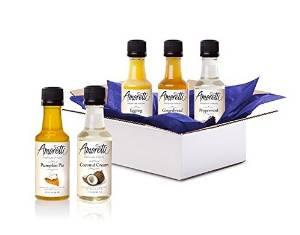 $9.99 Amoretti Syrup Sample Box, 8 or more samples ($9.99 credit with purchase)