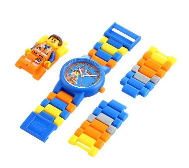 $14.99 LEGO Kids' 8020219 Emmet Watch with Minifigure Link