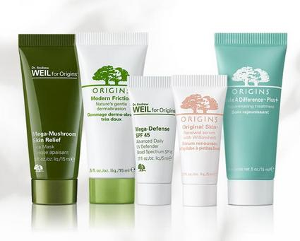 Free 5-piece Summer Essentials Kit with Any $50 Purchase @ Origins