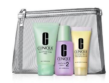 $9+Free Cleanser Deluxe Sample Clinique Hello, Great Skin Kit @ Bloomingdales