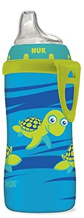 $2.23 NUK Blue Turtle Silicone Spout Active Cup, 10-Ounce