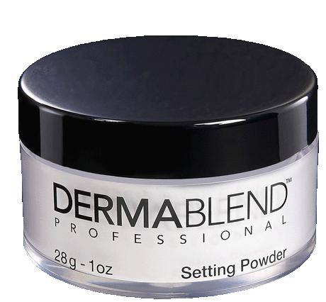 $27 SETTING POWDER Sets makeup and reinforces wearability @ Dermablend