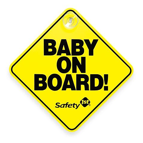 Free Safety 1st Baby On Board Sign