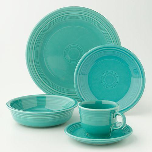 Two Sets for $34.99 + Free Gifts Fiesta 5-pc Place Setting