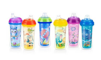 $1.18 Nuby No-Spill Insulated Sipper with Spout, 9 Ounce,