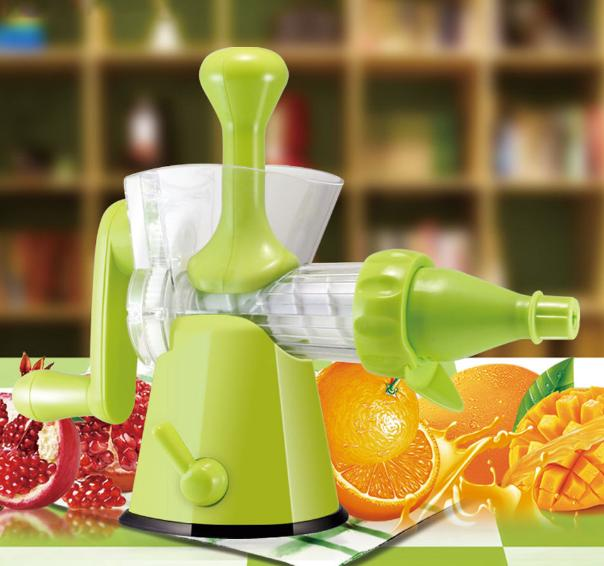 $17.99 Chef's Star Manual Hand Crank Single Auger Juicer w/ Suction Base