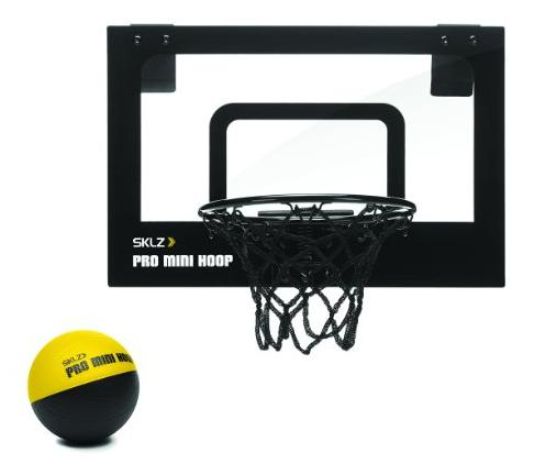 $15.20SKLZ Pro Mini Micro Basketball Hoop With Ball @ Amazon