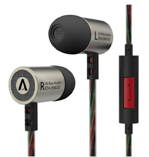 Airsspu In-ear Earphones Hi-fi Stereo Earbuds Noise Cancelling Wired Headphones Best with mic&Microphone for iphone Samsung lg htc mp3