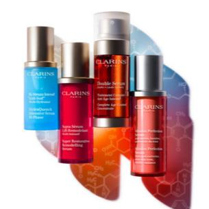 Up to 40% Off Select Clarins Skincare Product @ Sasa.com