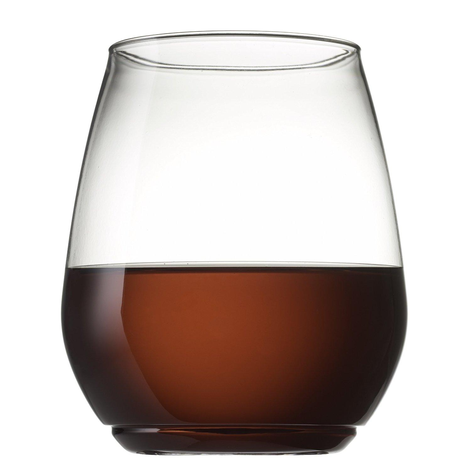 TOSSWARE 18oz Shatterproof Wine and Cocktail Glass - SET OF 12