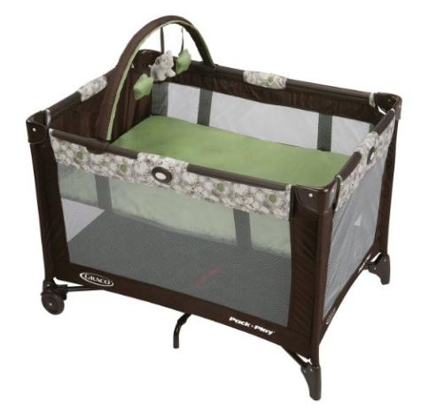 Graco Pack N Play Playard with Automatic Folding Feet, Zuba