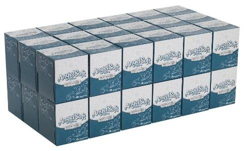 $21.97 Angel Soft ps Ultra 46560 White Premium Facial Tissue with Cube Box