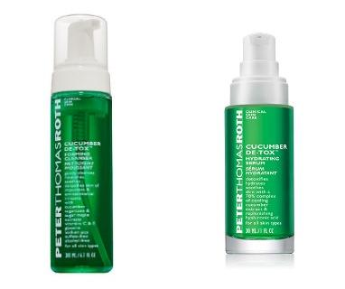 Dealmoon Exclusive! $24.99($100 Value)Cucumber Detox Foaming Cleanser & Cucumber Detox Hydrating Serum @ Peter Thomas Roth