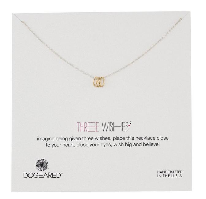 $18.58 Dogeared Three Wishes Necklace