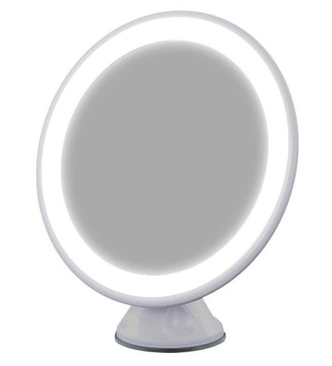 $14.44 Songmics LED Lighted Makeup Vanity Mirror USB Charge 1x Magnification 360° Rotating w