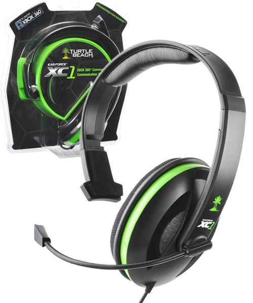 $6.88 Turtle Beach - Ear Force XC1 Chat Communicator Gaming Headset - Xbox 360