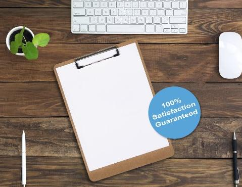 7 Clipboards - US Biz Direct Letter Size Clipboards - Smooth Hardboard - Low profile clip is rubberized