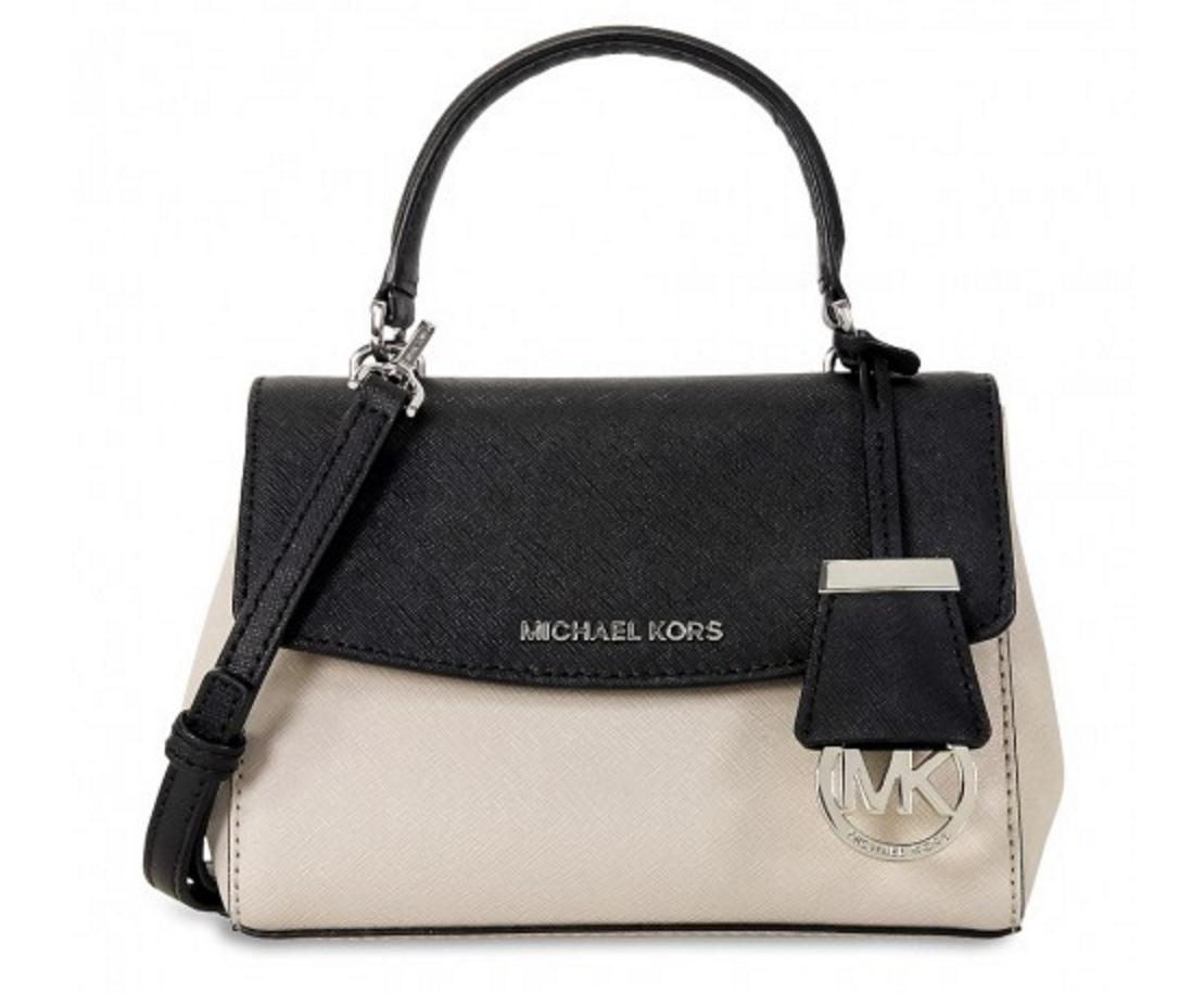 MICHAEL KORS Ava Extra-Small Saffiano Leather Crossbody