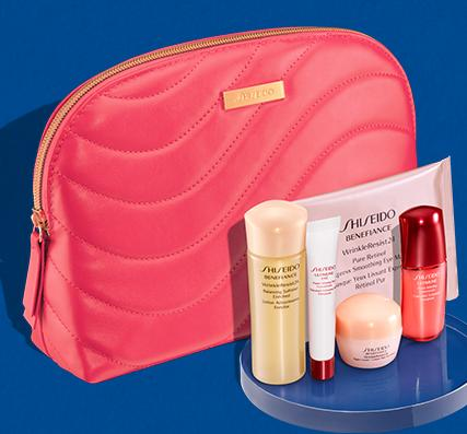 with Any Purchase of 2 Skincare Products + Free Shipping @ Shiseido