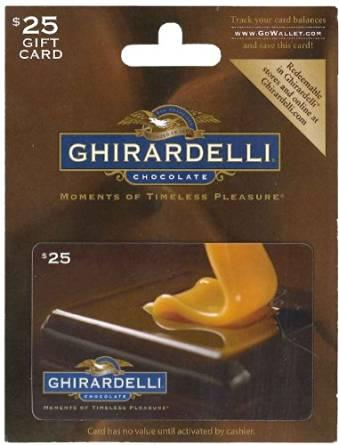 Ghirardelli Chocolate Gift Card