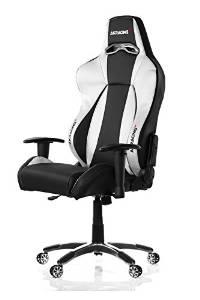 AKRACING AK-7002 Ergonomic Series Executive Racing Style Computer Chair Gaming Chair Office Chair eSport with Lumbar Support and Headrest Pillow Included