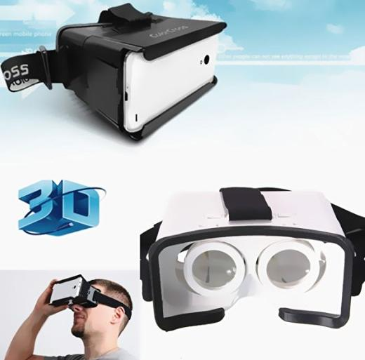 $4.99 ELEGIANT Virtual Reality 3D Glasses Video Movie Film For iPhone 6 Plus Samsung Galaxy S6