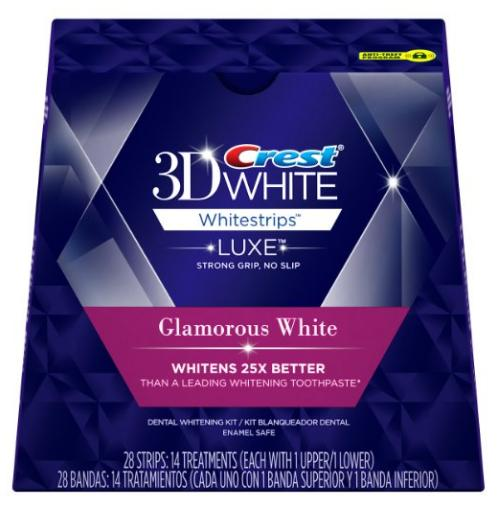 $9.99 Crest 3D White Strips with Advanced Seal Technology, 14 Count