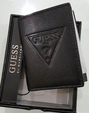 $11.66 Guess Men's Logo Trifold Men's Wallet
