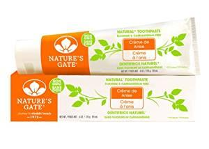 $4.38 Nature's Gate Natural Toothpaste, Creme de Anise, 6-Ounce Tubes (Pack of 6)