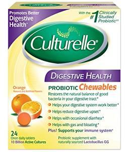 $16.01 Culturelle Digestive Health Chewable Tablets, 24 Count